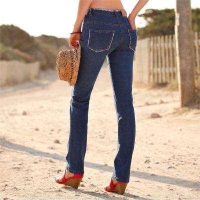 Džínsová móda na jar a v lete 2015