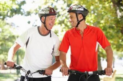 Pozitívne účinky bicykla