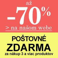 Happy Shopping - zľavy až 70 %+poštovné zdarma*