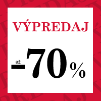 Zimný výpredaj - zľavy až 70 %