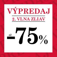 Zimný výpredaj - zľavy až 75 %