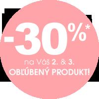 Zľava 30 % na 2. a 3. produkt v košíku
