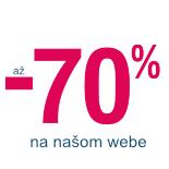 Výpredaj a zimné zľavy až 70 %