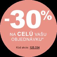 Zľava na Vašu objednávku 30 % od 2 ks